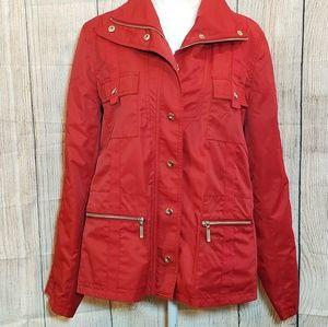 CAbi jacket style 130 red windbreaker, size Large